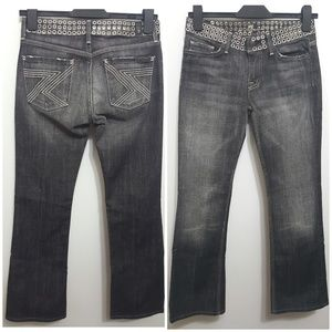 7 For All Mankind Jeans - 7 FOR ALL MANKIND Grommet Waist Premium Slim Boot